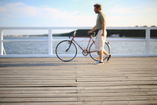 Ant dviračio sveikatos link!